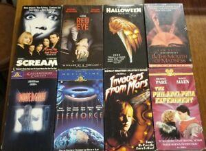 Wes Craven, John Carpenter, Tobe Hooper VHS Lot