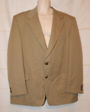 Mens Beige RBM Collection Suit Jacket Blazer Size 46L 46 Long excellent
