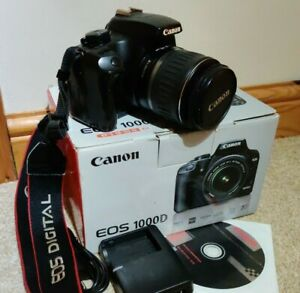 Cannon EOS 1000D / Rebel XS Digital SLR Camera Set 18-55mm Starter Kit