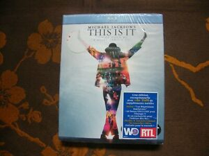 BLU-RAY MICHAEL JACKSON'S: This Is It - Kenny Ortega  (2010) VOST  NEUF BLISTER