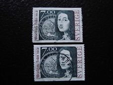 SUEDE - timbre yvert et tellier n° 2031 x2 obl (A29) stamp sweden (Z)