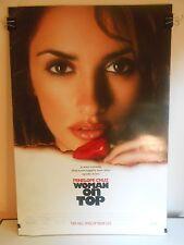 Woman On Top (2000) Original Double Sided Movie Poster Penelope Cruz 27x40