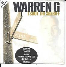 CD SINGLE 2 TITRES--WARREN G--I SHOT THE SHERIFF--1997