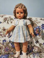 Bambola cartapesta anni 50 misura 50 cm circa