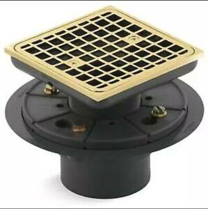 Kohler K-9136-PB - Shower Drains Shower Accessories Polished Brass