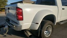 2008 White Dodge Ram 3500 Dually Shortbed Factory Bed Tailgate Bumper