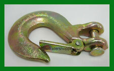 """Trailer Safety Chain Latch 3/8"""" Clevis Hook Truck hitch 18,000 GTW -81560"""