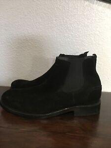 wolverine montague 1000 mile chelsea boots black sz 10 D