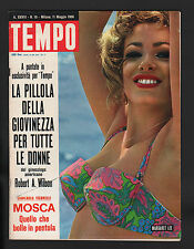 TEMPO 19/1966 MARGARET LEE ALFA ROMEO GIULIA SOUTH AFRICAN AIRWAYS GEX BUMPERS