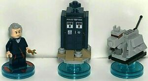 *Lego® Dimensions 71204 The Doctor Dr. Who Tardis K-9 Who Fun Pack Complete 👾