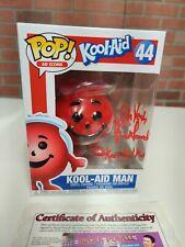 SIGNED Brock Powell FUNKO POP! KOOL-AID MAN +COA TOYZILLA Certified Pop MINT!