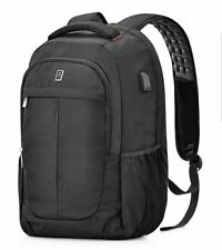 Business Laptop Backpack, bag with USB Charging Port Anti-Theft Water Resistant