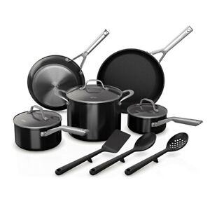✔Ninja Foodi NeverStick 11 Piece Cookware Set, Guaranteed To Never Stick New
