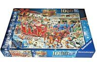 Ravensburger Limited Edition 'The Christmas Farm' 1000 Piece Jigsaw Puzzle NOS