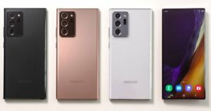 Samsung Galaxy Note20 Ultra 5G SM-N986U1 128GB Black Factory Unlocked Mint 10/10