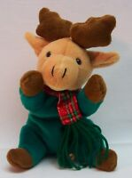 "Dan Dee Collector's Choice CHRISTMAS HOLIDAY REINDEER BEAN BAG 9"" STUFFED ANIMAL"