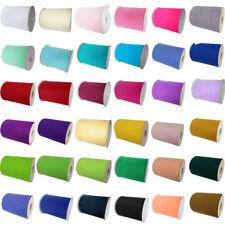 "*2018 New* Tutu Tulle Rolls  6"" Wide x 100Yards Soft Nylon Netting Fabric UK"