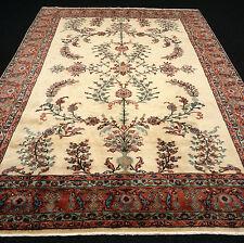 Türkischer Orient Teppich 336 x 241 cm Uschak Sandfarbe Beige Turkish Oushak Rug
