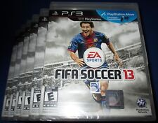 Lot of 6 FIFA Soccer 13 Sony PlayStation 3 - PS3 - *Factory Sealed! *Free Ship!