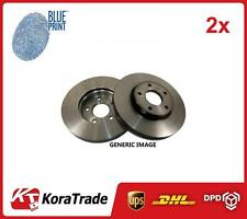 2x adh24354 Posteriore Blue Print OE Quality Set di dischi del freno