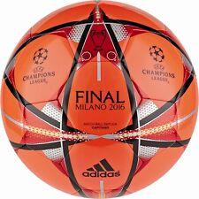 adidas Champions League Finale Milano Capitano Fußball rot/schwarz/gold Größe 5