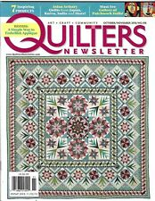 Quilter's Newsletter Magazine Quilt Projects Embellish Patchwork Dolls CD 2010