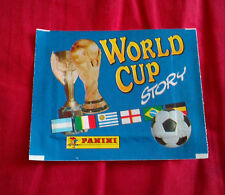PANINI 1990 WORLD CUP STORY STICKERS UNOPENED PACK MINT CONDITION SONRIC'S ITALY