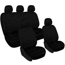 Sitzbezüge Sitzbezug Schonbezüge für Audi A2 Schwarz Modern MG-1 Komplettset
