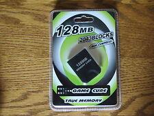 Memory Card 128 MB 2043 für Nintendo GameCube Wii *NEU*