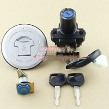 Ignition Switch Fuel Gas Cap Cover Key Lock Set for Honda FMX650 2005-2006