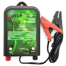 ba25 électrique Alimentation de barrière unité 12V 0.25j 2km bétail chevaux,