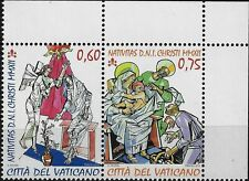 2012 Vaticano Natale - adesivo da libretto MNH
