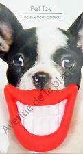 Jouet pour chien sourire, jeux pour chien, jouet fun animalirie Neuf