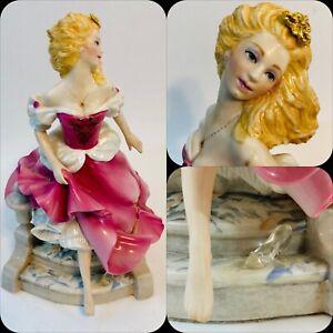 "Franklin Mint ""CINDERELLA"" by Gerda Neubacher ~ Porcelain Figurine ~ 1988"