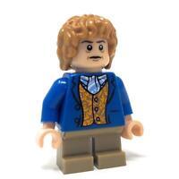 LEGO Bilbo Baggins Blue - RARE Lord Rings Hobbit Minifigure