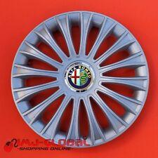 """4 COPRICERCHI BORCHIE 16"""" ALFA ROMEO MiTo 159 GIULIETTA GT 166 DINOR"""