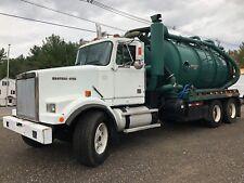 1997 Western Star 4800 Cusco TurboVac pumper septic sewer vac tanker truck