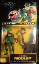 Batman Forever The Riddler trapping brain drain helmet Action Figure MINT Kenner