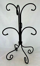 Longaberger Foundry Wrought Iron Mug/Cup Tree/Stand/Rack~Holds 6 Mugs/Cups~NIB!