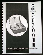 Sencore TC-130 TC130 Mighty Mite Tube Tester Manual