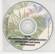 (EJ159) Quinn, The World Is Upside Down - 2006 DJ CD