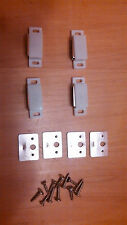 Plantation Shutter Magnets, catch plates and screws Lot of 4