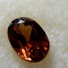 Natural red/bronze zircon...quality gem...0.65 Carat