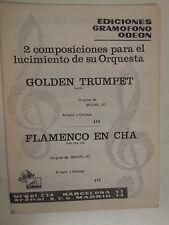 Combo Banda Piezas Golden Trumpet / Flamenco En Cha