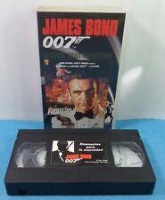 VHS CLASSIC JAMES BOND 007 COLLECTION VINTAGE - DIAMANTES PARA LA ETERNIDAD
