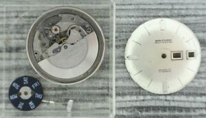 Vintage Waltham PUW 1463 17 Jewel Automatic Men's Wristwatch Movement for Parts