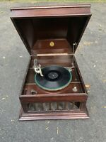 Antique Pathe Victrol Phonograph Talking Machine Gramophone Works