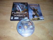 Champions of Norrath: Realms of EverQuest PS2 Playstation 2 Complete Black Label