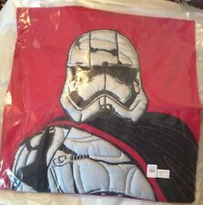 "Pottery barn Star Wars bed pillow Sham cover 20"" Trooper super hero holiday gift"