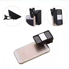 3D VR Mobile Phone Lens Stereoscopic Camera Stereo Photos Fisheye Lens With Clip